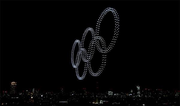 オリンピックドローン